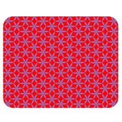 Flower Of Life Pattern Red Purle Double Sided Flano Blanket (medium)