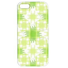 Intersecting Lines Pattern Apple Iphone 5 Hardshell Case With Stand