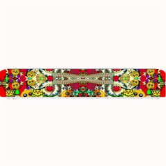 Chicken Monkeys Smile In The Floral Nature Looking Hot Small Bar Mats