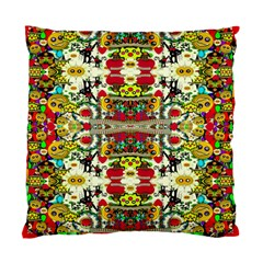 Chicken Monkeys Smile In The Floral Nature Looking Hot Standard Cushion Case (one Side)