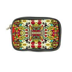 Chicken Monkeys Smile In The Floral Nature Looking Hot Coin Purse