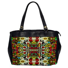 Chicken Monkeys Smile In The Floral Nature Looking Hot Office Handbags