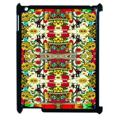Chicken Monkeys Smile In The Floral Nature Looking Hot Apple Ipad 2 Case (black)