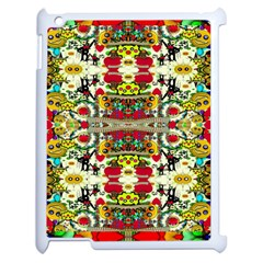 Chicken Monkeys Smile In The Floral Nature Looking Hot Apple Ipad 2 Case (white)