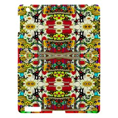 Chicken Monkeys Smile In The Floral Nature Looking Hot Apple Ipad 3/4 Hardshell Case