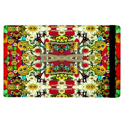 Chicken Monkeys Smile In The Floral Nature Looking Hot Apple Ipad 2 Flip Case