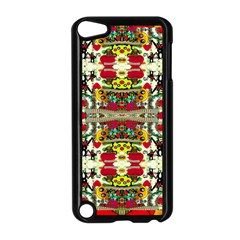 Chicken Monkeys Smile In The Floral Nature Looking Hot Apple Ipod Touch 5 Case (black)