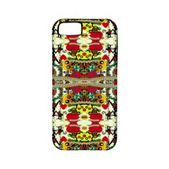 Chicken Monkeys Smile In The Floral Nature Looking Hot Apple Iphone 5 Classic Hardshell Case (pc+silicone)