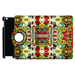Chicken Monkeys Smile In The Floral Nature Looking Hot Apple Ipad 3/4 Flip 360 Case