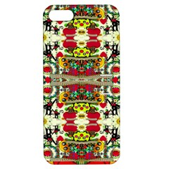 Chicken Monkeys Smile In The Floral Nature Looking Hot Apple Iphone 5 Hardshell Case With Stand