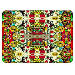 Chicken Monkeys Smile In The Floral Nature Looking Hot Samsung Galaxy Tab 7  P1000 Flip Case