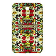 Chicken Monkeys Smile In The Floral Nature Looking Hot Samsung Galaxy Tab 3 (7 ) P3200 Hardshell Case