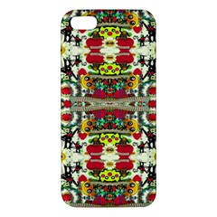 Chicken Monkeys Smile In The Floral Nature Looking Hot Iphone 5s/ Se Premium Hardshell Case