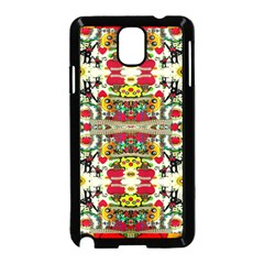 Chicken Monkeys Smile In The Floral Nature Looking Hot Samsung Galaxy Note 3 Neo Hardshell Case (black)
