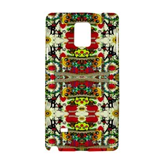 Chicken Monkeys Smile In The Floral Nature Looking Hot Samsung Galaxy Note 4 Hardshell Case