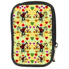 Santa With Friends And Season Love Compact Camera Cases