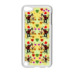 Santa With Friends And Season Love Apple Ipod Touch 5 Case (white)