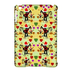 Santa With Friends And Season Love Apple Ipad Mini Hardshell Case (compatible With Smart Cover)