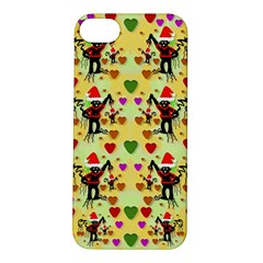 Santa With Friends And Season Love Apple Iphone 5s/ Se Hardshell Case