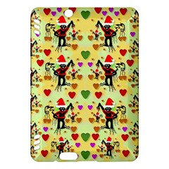 Santa With Friends And Season Love Kindle Fire Hdx Hardshell Case