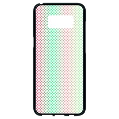 Pattern Samsung Galaxy S8 Black Seamless Case