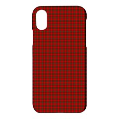 Royal Stuart Tartan Apple Iphone X Hardshell Case
