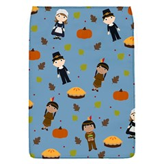 Pilgrims And Indians Pattern   Thanksgiving Flap Covers (s)