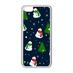 Snowman Pattern Apple Iphone 5c Seamless Case (white)