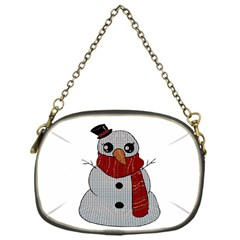 Kawaii Snowman Chain Purses (one Side)