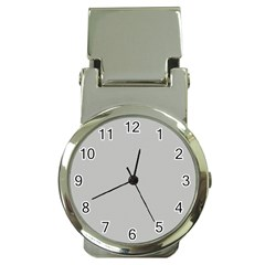 Grey And White Simulated Carbon Fiber Money Clip Watches