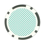 Pattern Poker Chip Card Guard Front