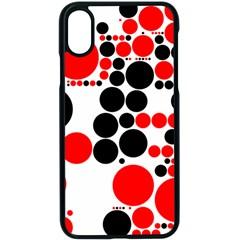 Pattern Apple Iphone X Seamless Case (black)