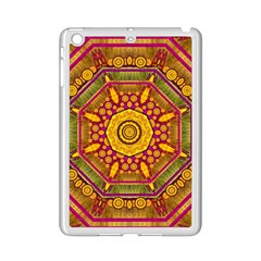 Sunshine Mandala And Other Golden Planets Ipad Mini 2 Enamel Coated Cases