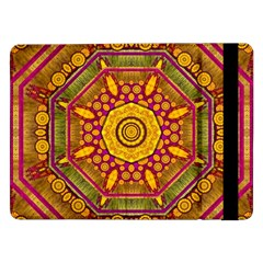Sunshine Mandala And Other Golden Planets Samsung Galaxy Tab Pro 12 2  Flip Case