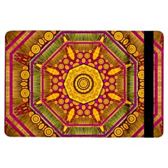 Sunshine Mandala And Other Golden Planets Ipad Air Flip