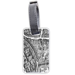Frankfurt Judengasse Luggage Tags (two Sides)