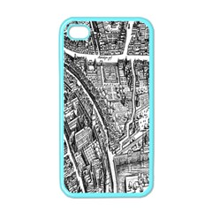 Frankfurt Judengasse Apple Iphone 4 Case (color)
