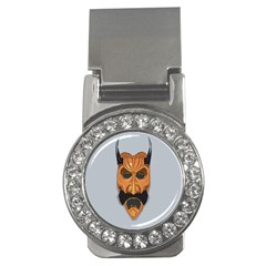 Mask India South Culture Money Clips (cz)