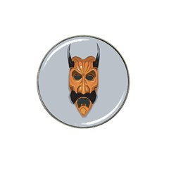 Mask India South Culture Hat Clip Ball Marker (4 Pack)