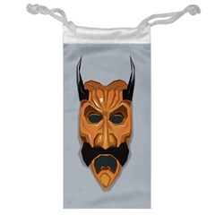 Mask India South Culture Jewelry Bag