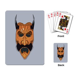 Mask India South Culture Playing Card