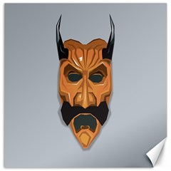 Mask India South Culture Canvas 16  X 16