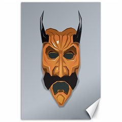 Mask India South Culture Canvas 20  X 30