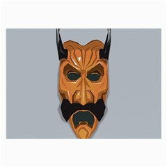 Mask India South Culture Large Glasses Cloth (2 Side)