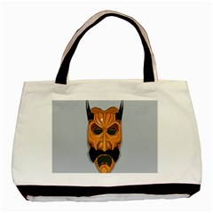 Mask India South Culture Basic Tote Bag (two Sides)