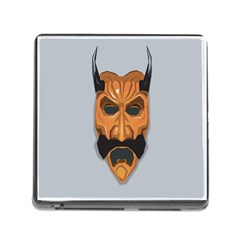 Mask India South Culture Memory Card Reader (square)