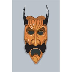 Mask India South Culture 5 5  X 8 5  Notebooks