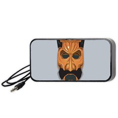 Mask India South Culture Portable Speaker