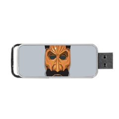 Mask India South Culture Portable Usb Flash (two Sides)