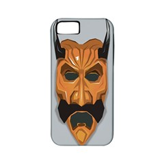 Mask India South Culture Apple Iphone 5 Classic Hardshell Case (pc+silicone)
